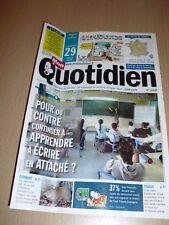MON QUOTIDIEN n°4933 mars 2013