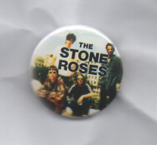 THE STONE ROSES BUTTON BADGE - ENGLISH INDIE ROCK BAND IAN BROWN 25mm pin