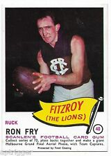 1966 Scanlens (40) Ron FRY Fitzroy  { Mint }