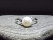 Anelli di lusso naturale perla zircone