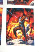 1996 STAR WARS SHADOWS OF THE EMPIRE PROMO CARD #SOTE4 GREG & TIM HILDEBRANDT!