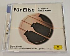 Fur Elise Romantic Piano Pieces , Eloquence CD Classical Music