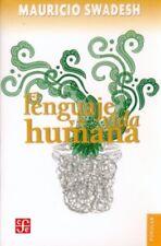 El lenguaje y la vida humana. NUEVO. Envío URGENTE. LITERATURA (IMOSVER)