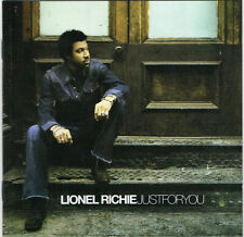 "Lionel Richie ‎– ""Just For You""- Special Edition/Bonus Track- New UK CD 2004"