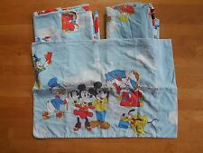 Vintage Mickey Mouse Magic Kingdom Twin Sheet Set