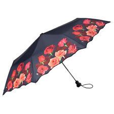 Von Lilienfeld geblümter Regenschirm Rosenbouquet  Taschenschirm Auf-Automatik