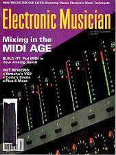 magazine, nostalgic, collectible, Electronic Musician 1989-07
