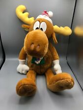 "1996 24"" Bullwinkle Winter Scarf Hat Plush Macy's NWT New w/ Rocky Ornament"