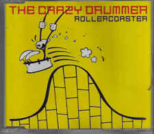 The Crazy Drummer-Rollercoaster cd maxi single eurodance holland 5 tracks