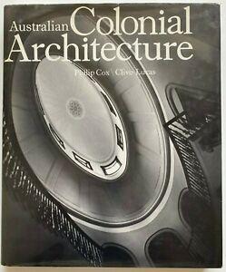 1978 1st Australian Colonial Architecture, Philip Cox & Clive Lucas, 300+ plates