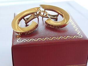 PIAGET EARRINGS 750 GOLD YELLOW ORECCHINI ORO 18K  LADIES WEIGHT: 9.9gr