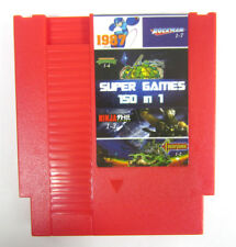 NEW Super Game 150-in-1 (8-Bit NES Nintendo) Red Video Game Cartridge