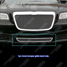 Fits 2011-2014 Chrysler 300/300C Bumper Stainless Steel Mesh Grille Grill