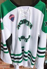 brand new ca450 1f3af UND University of North Dakota Fighting Hawks Hockey K 1 White XXL Jersey  New