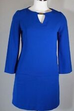 WORTHINGTON WOMEN'S Casual Career Office Work Sheath Dress Blue Size Medium