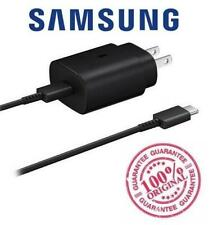 Genuine Samsung Super Fast Charging Charger 25W Note 10 10+ S20 20+ USB C Cable