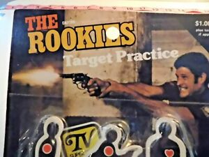 The Rookies RARE Toys Target Practice with 3 targets and gun Kate Jackson B30