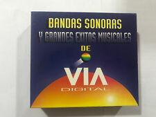 BANDAS SONORAS Y GRANDES EXITOS MUSICALES DE VIA DIGITAL 3 CD ORIGINALES SALSA