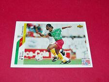 EMILE M'BOUH CAMEROUN FIFA WC FOOTBALL CARD UPPER USA 94 PANINI 1994 WM94