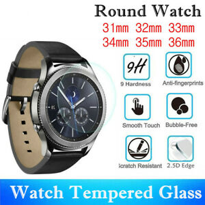 Smart Watch Screen Protector /Tempered Glass For Round Watch /Protective Film