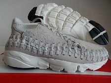 NIKE AIR FOOTSCAPE WOVEN CHUKKA QS LIGHT BONE-LIGHT BONE SZ 9.5 [913929-002]