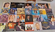Job Lot Of 28 Old Vintage Records / Vinyl / LPS - Shadows ETC - 1970's / 80's