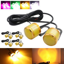 10x Amber Eagle Eye LED Daytime Running DRL Car Rock Strobe Lamp Backup Light
