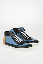 MARNI men Sneakers Sz 45 IT Multicolor Leather Mid Top Shoes Multicolor 45 (S...