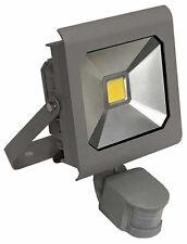 Projecteur LED A DETECTEUR 10W 230V 4000K 900LM IP65, Gris, LUMINIS 950
