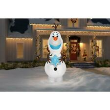 DISNEY FROZEN CHRISTMAS GIANT AIRBLOWN INFLATABLE 11 FT LED LIGHTED OLAF