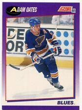 1991-92 Score American #238 Adam Oates St. Louis Blues Hockey Card