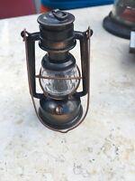 Vintage miniature die cast metal Pencil Sharpener Lantern