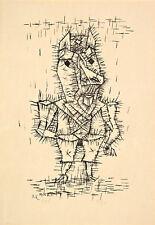 Ass -Esel by Paul Klee 1925 60cm x 41.2cm High Quality Art Print