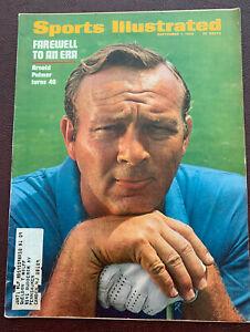 September 1 1969 Arnold Palmer Turns 40 Golf Sports Illustrated Magazine Vintage