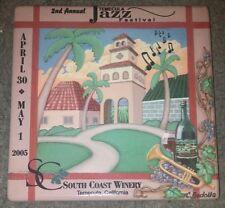 2005 2nd Annual Temecula Jazz Festival South Coast Winery Souvenir Tile