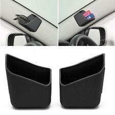 2X Universal Car Auto Accessories Glasses Organizer Storage Box Holder Black New