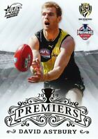 ✺New✺ 2019 RICHMOND TIGERS AFL Premiers Card DAVID ASTBURY - 11 of 25