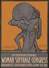 Vintage Suffragette Propaganda MUMMY/'S A SUFFRAGETTE 250gsm A3 Poster
