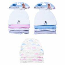 Baby Mütze Erstlingsmütze 4er Pack Little Star 100% Baumwolle