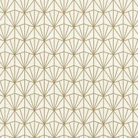 MODERN ART ART DECO TRIANGLES WALLPAPER CREAM / GOLD RASCH 434019 - NEW