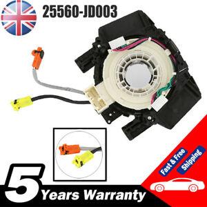 For Nissan Qashqai 2006 Airbag Squib Clock Spring Sensor Spiral Cable 2 Plugs