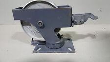 "New listing Hamilton 6-1/4"" Swivel-eaz 2200lb Dual Wheel Locking Caster Locking Swivel Plate"
