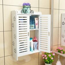 Bathroom shelf wall-mounted punch-free suction toilet wash cabinet LO515415