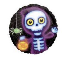 "Skeleton 18"" Halloween Balloon Birthday Party Decorations"
