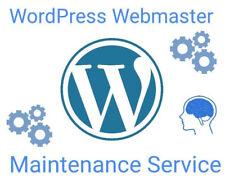 Wordpress Website Webmaster Maintenance Service plus 4 years cpanel webhosting
