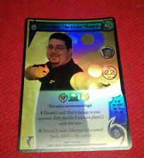 UFS STAFF Promo Foil Fighter Card - George 'Action' Mann