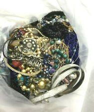 BROKEN Vintage Retro Craft Costume Jewellery Bundle Job Lot