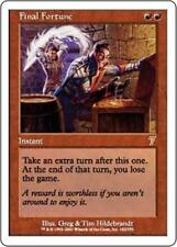 FINAL FORTUNE Seventh Edition MTG Red Instant RARE