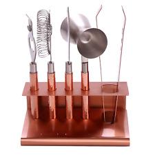 Set of 6 - Hammered Copper Bar Tool Set
