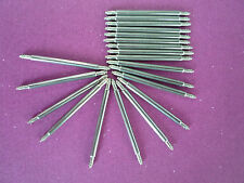 30 PIECES STAINLESS STEEL WATCH BRACELET SPRING BAR 1.78MM * 20MM